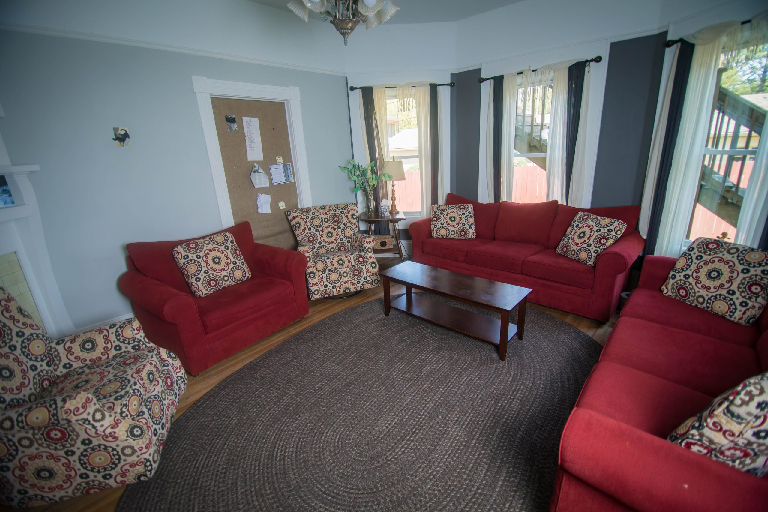 Group therapy room at Tapestry-Brevard